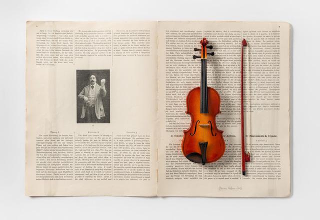 , 'Goby Eberhardt - Gymnastik des Violinspiels,' 2016, Mario Mauroner Contemporary Art Salzburg-Vienna