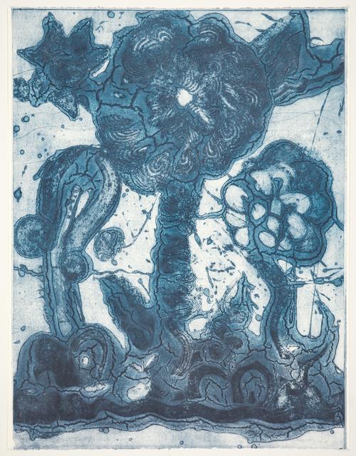 , 'Garden (thalo blue, green, light blue),' 2019, Manneken Press
