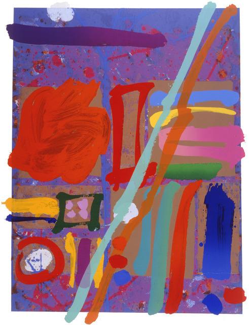 Albert Irvin RA, 'Kepler I', 1998, Advanced Graphics London