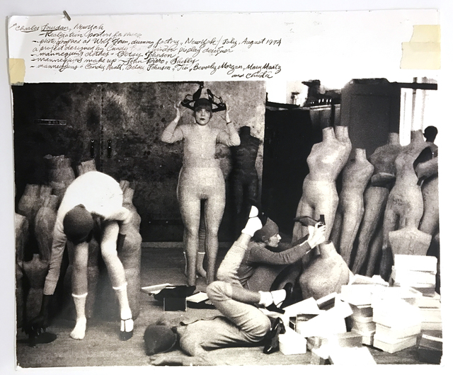 ", 'Untitled for Charles Jourdan (""Dummy Factory""), July-August 1974,' 1974, Deborah Bell Photographs"