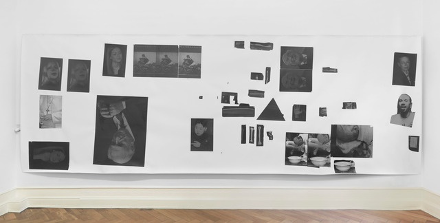 Henrik Olesen, 'Hysterical Men 2', 2013, Painting, Canvas, Inkjet print on Proof Paper ZP 55 (Newspaper), 55 Gouache /m2, Amsterdam Gel Medium Matt Glue, Galerie Buchholz
