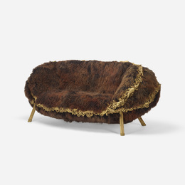 Anhanguera sofa from the Brazilian Baroque Collection
