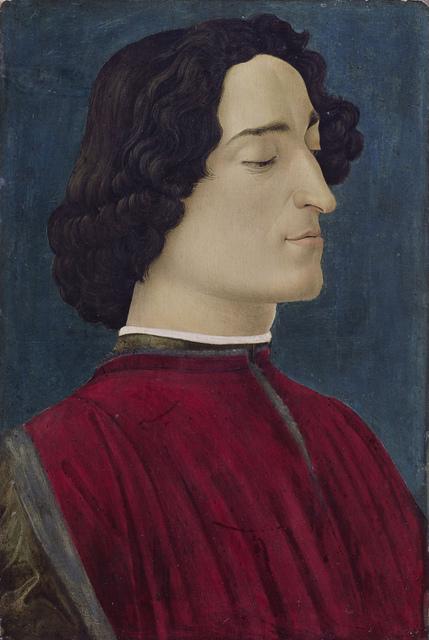 , 'Giuliano de' Medici,' 1478, Gemäldegalerie Alte Meister