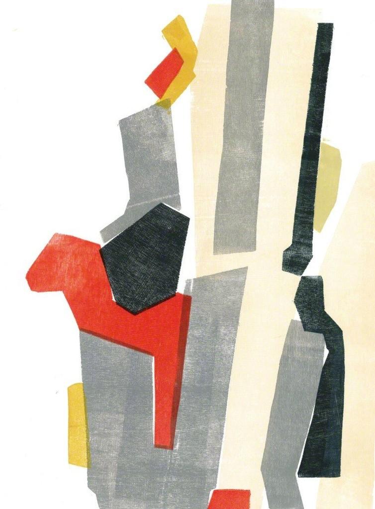 """Untitled Wood Cut 2"" by Euphrosyne Andrews"