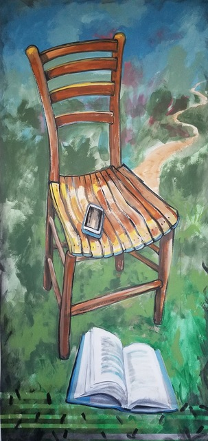 , 'Chair with Many Paths,' 2017, Flow 305