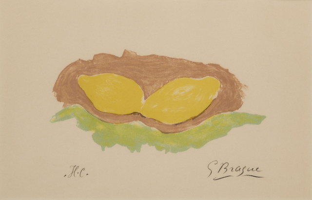 , 'Les Citrons,' 1954, Childs Gallery