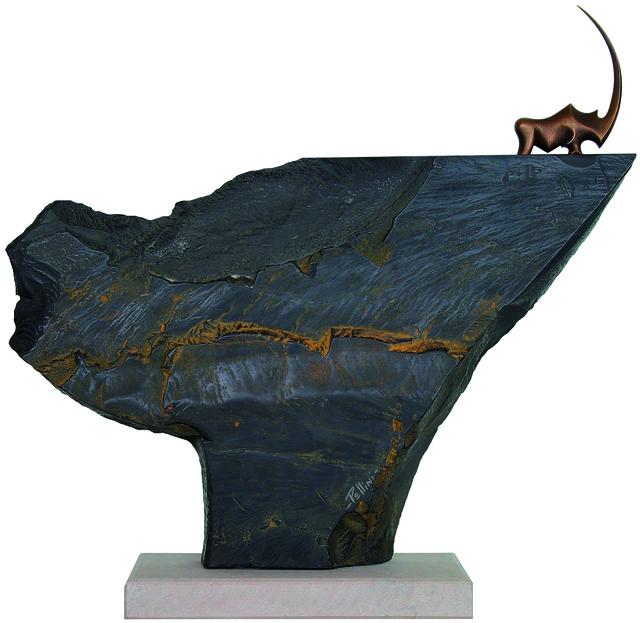 , 'Rhino Perché moyen Bronze et marbre noir de Belgique,' , art&emotion Fine Art Gallery