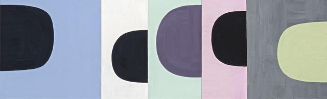 , 'Black_Green,' 2011, David Richard Gallery
