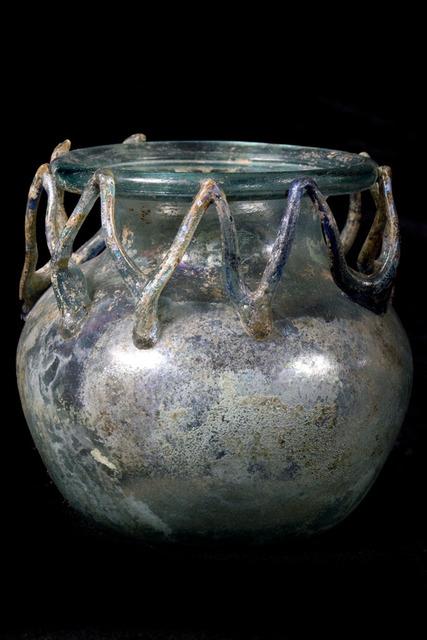 , 'Roman Glass Aryballos - Beautiful Iridescence,' 100-300, Muzeion Gallery