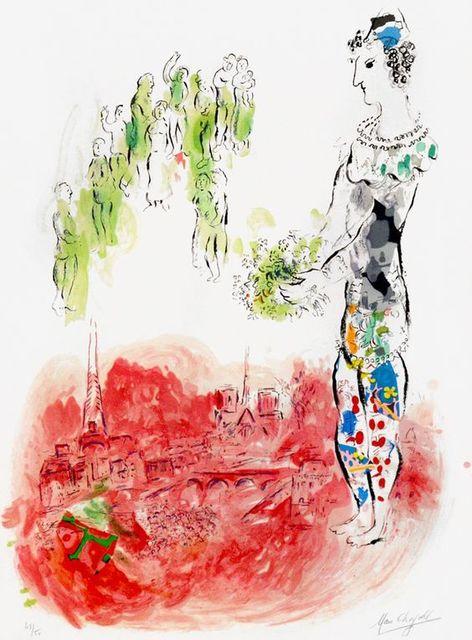 Marc Chagall, 'Le Magicien ll', 1970, Print, Lithograph, Vertu Fine Art