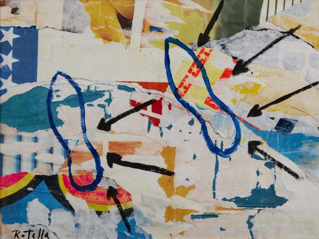 Mimmo Rotella, 'Two steps', executed in 1998, Pandolfini