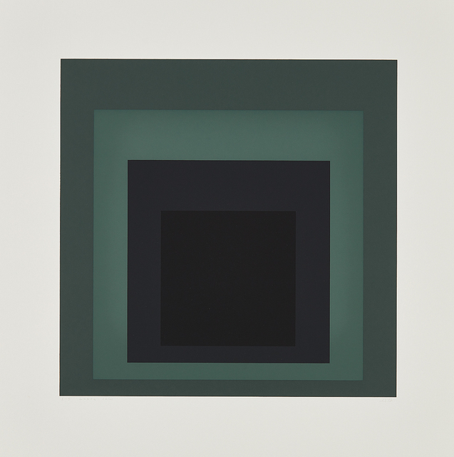 Josef Albers, 'I-S LXXII a', 1972, Print, Screenprint in colors, on German Etching paper, with full margins., Phillips