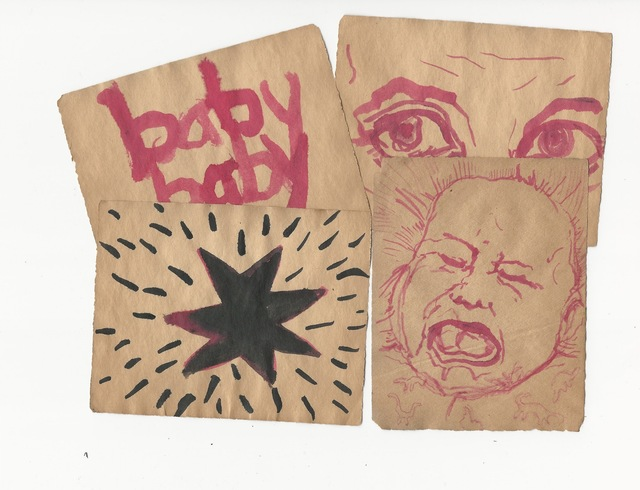 , 'Baby Baby (4 drawings),' 2018, Resource Art