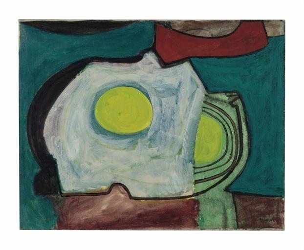 William Baziotes, 'Beach Shadow', Christie's