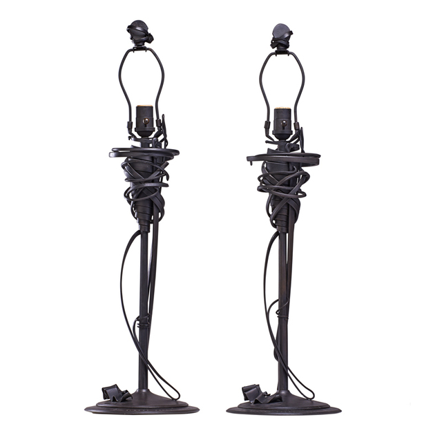 Albert Paley, 'Two Sculptural Table Lamps, Rochester, NY', 1993, Rago/Wright