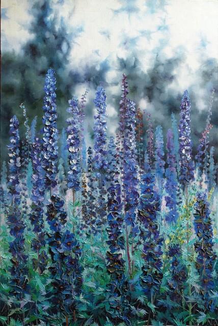 , 'Blue symphony,' 2000, A-Art Shengzan Gallery