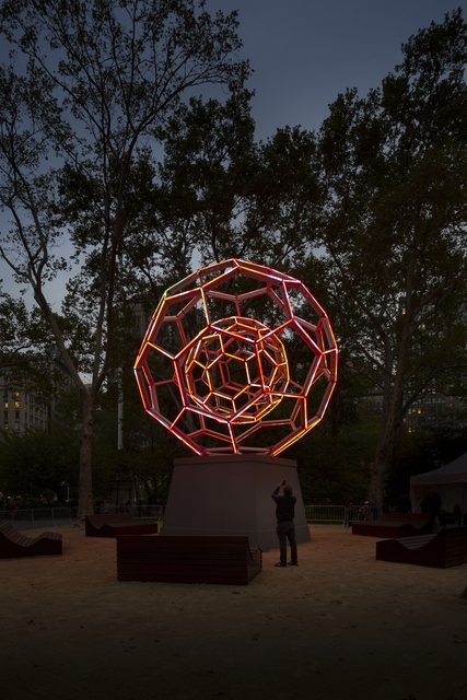 , 'BUCKYBALL,' 2012, Madison Square Park