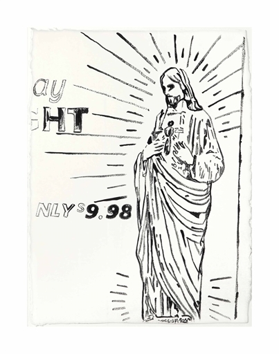 Andy Warhol, 'Untitled (Christ $9.98)', Christie's