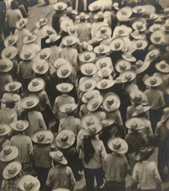 , 'Campesinos (Workers' Parade),' 1926, Edwynn Houk Gallery