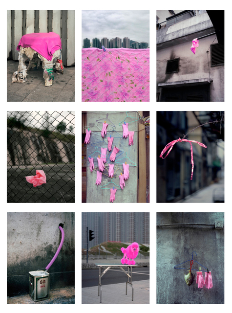, '#20, Hong Kong pink, MFT group,' 2014, GALLERY FIFTY ONE