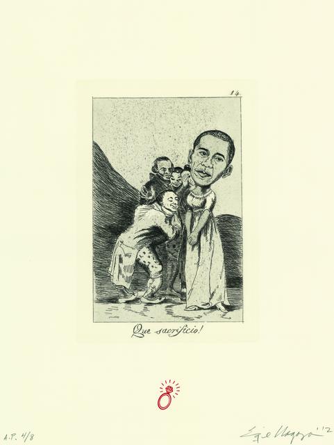 Enrique Chagoya, 'Recurrent Goya (suite of 8)', 2012, Lisa Sette Gallery