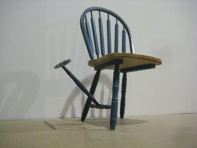 , 'Tripod sculpture,' 2009, Nina Johnson