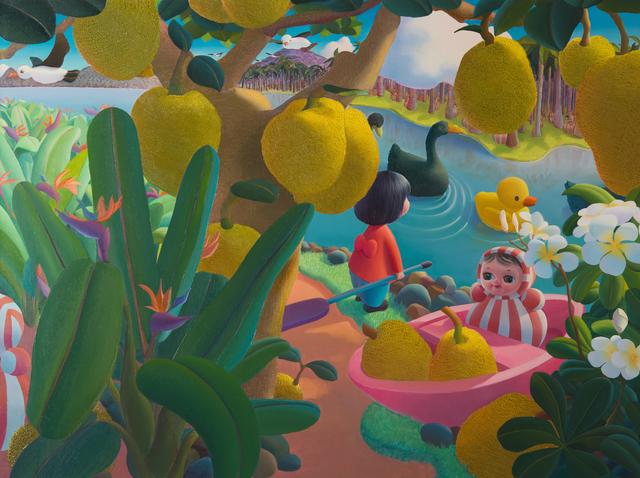 , 'Long trip 2,' 2016, Amy Li Gallery