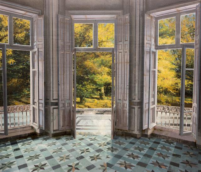 , 'Mattino d'Ottobre,' 2017, Pontone Gallery