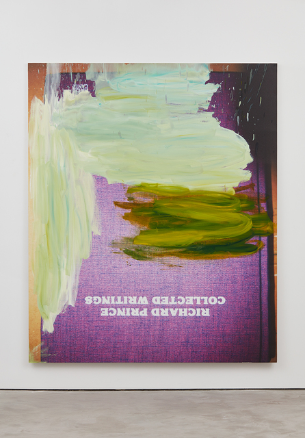 , 'Book Painting (Richard Prince Collected Writings Hardcover 200 pages published September 1, 2011 Hatje Cantz),' 2016, NINO MIER GALLERY