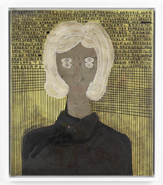 , 'A.B.: CATHATONIC SHIZOPHRENIA,' 2013, Galerie Guido W. Baudach