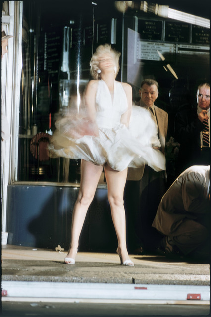Elliott Erwitt, 'Marilyn Monroe on the Set of 'The Seven Year Itch', New York City, 1954', 1954, Huxley-Parlour