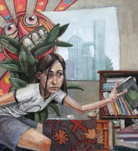 , 'Books and Tea,' 2018, Gallery Victor Armendariz