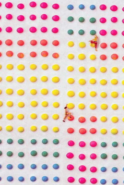 , 'Candy Dot Climbing Wall,' 2018, Winston Wächter Fine Art