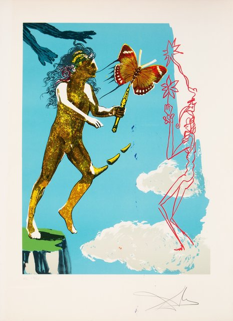 Salvador Dalí, 'Release of the psychic spirit, from Madame butterfly & the dream', 1978, Heritage Auctions