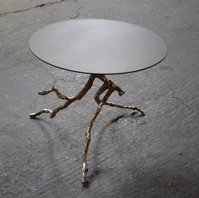 , 'Limb Side Table, Bronze,' , blankblank
