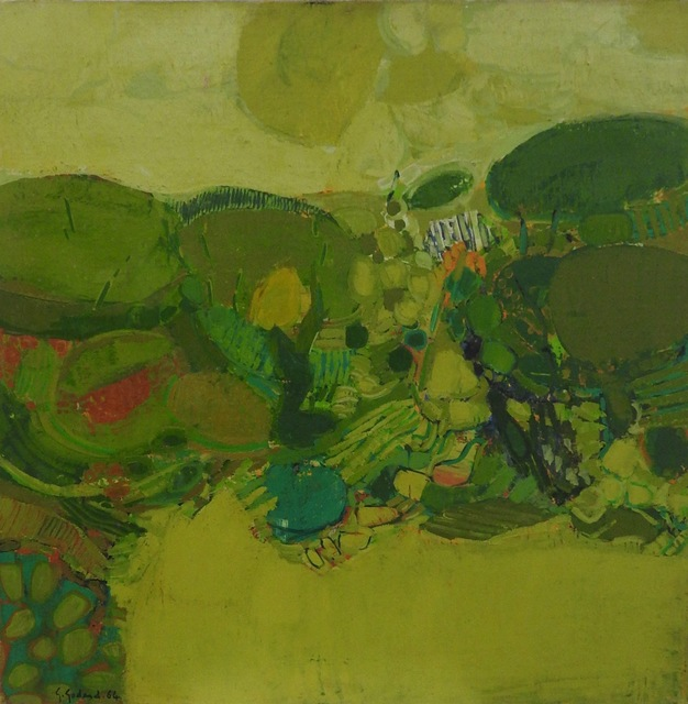 Gabriel Godard, 'Mouvement d' arbres', 1964, Painting, Oil on canvas, Artioli Findlay