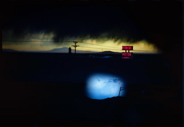 , 'Western Skies Motel, Albuquerque, New Mexico,' 1977, 99Prints