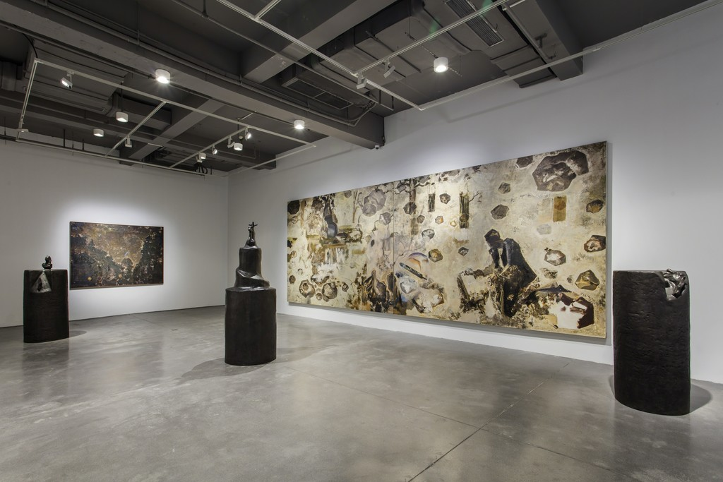 Installation View, The Snail's Universe and Playful Landscape, 2018, ARARIO GALLERY, Shanghai
