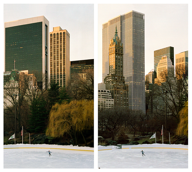 , 'Exposure #86: N.Y.C., Central Park, Wollman Skating Rink, 03.01.11, 6:36 a.m.,' 2011, Monica De Cardenas