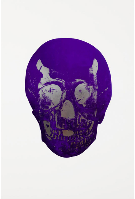 Damien Hirst, 'The Dead - Imperial Purple/Silver Gloss', 2009, DTR Modern Galleries