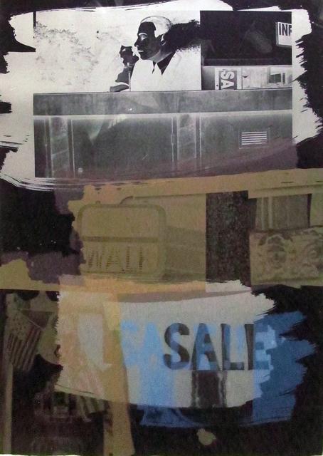 Robert Rauschenberg, 'Fence', 1992, Print, Lithograph, Hamilton-Selway Fine Art