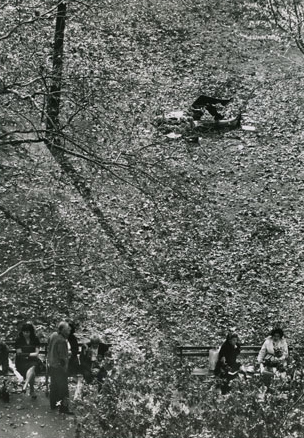 , 'Washington Square Park, October 29,' 1964, Bruce Silverstein Gallery