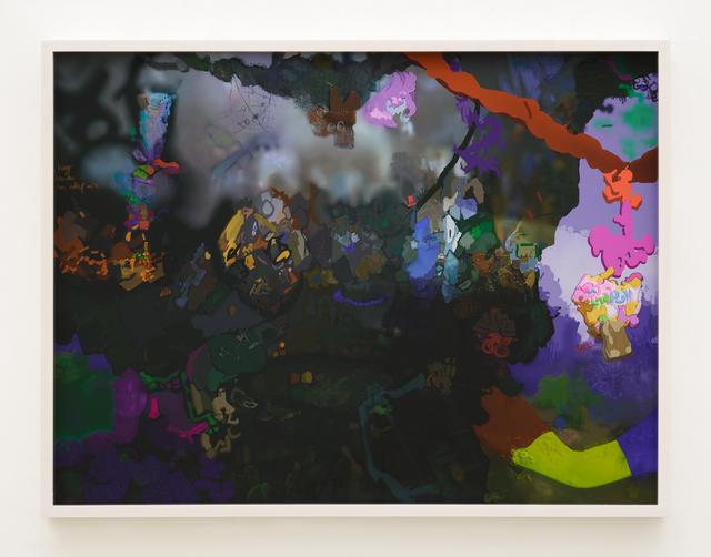 , 'D,' 2017, Johannes Vogt Gallery