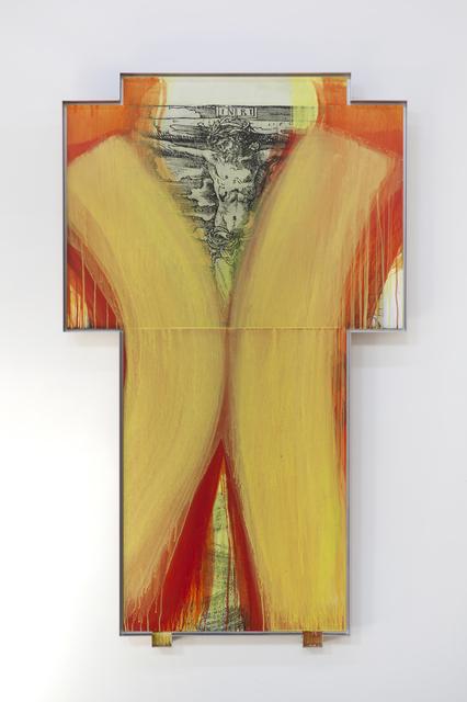 , 'Kreuz uber Kreuzigung von Lukas Cranach,' 1999-2000, Mana Contemporary