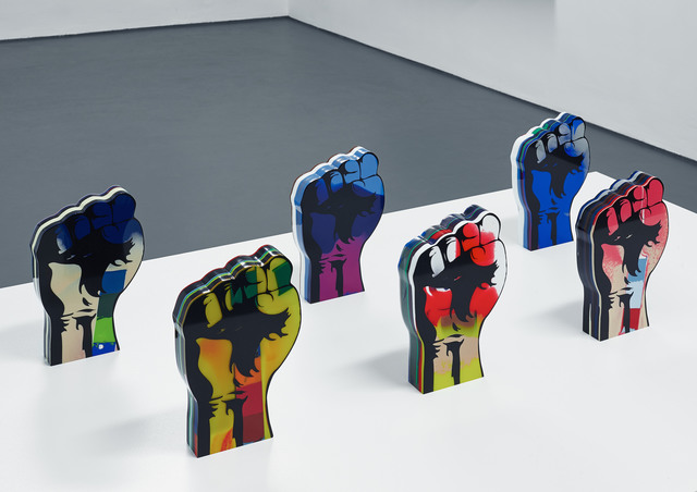 , 'Untitled (Fists),' 2014, Bischoff Projects
