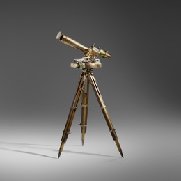Artillery scope with tripod
