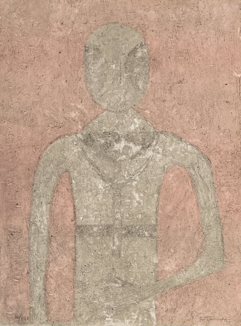 Rufino Tamayo, 'Hombre in Blanco', 1976, Heritage Auctions