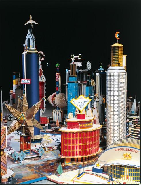 , 'Projet pour le Kinshasa du troisième millenaire,' 1997, Fondation Cartier pour l'art contemporain