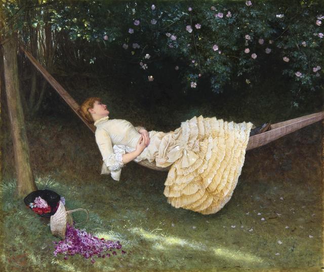 , 'THE HAMMOCK,' 1882, Chris Beetles Gallery