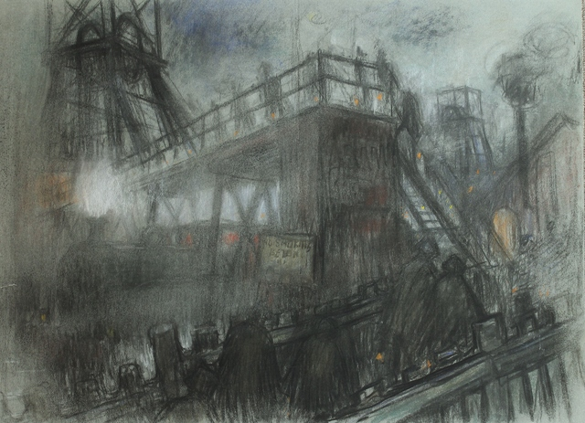 , 'Dean and Chapter gantry,' ca. 1970, Castlegate House Gallery